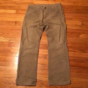 Men's Tan Banana Republic Jeans